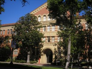 USC's Science Hall.