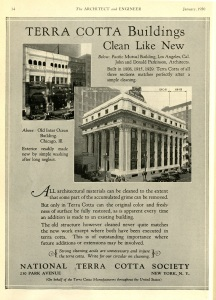 I found a John Parkinson Building in an advertisement for Terra Cotta.