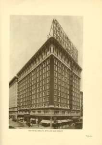 The Rossalyn Hotel from the Parkinson brochure.