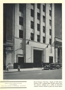 I love this image from Architectural Record. It looks so 1930s. This looks like a movie set.