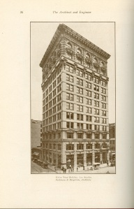 Now, look at this. Here it is called the Union Trust Building in 1910 but by 1921 it's being referred to as the Hibernian Building.