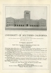 This was the backcover of California Southland dated June 1921.