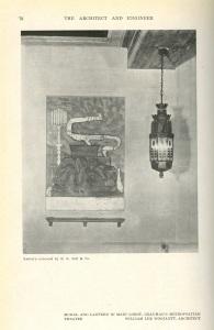 A lantern and modern art?