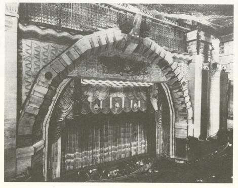 The Metropolitan's proscenium.