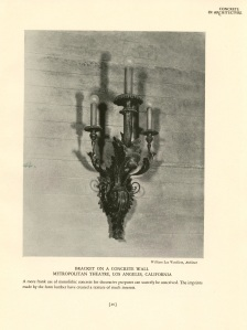 A wall sconce.