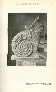 A model of that deer snail.