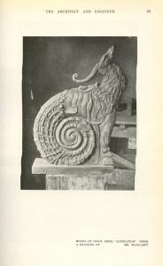 A model of that deer snail.