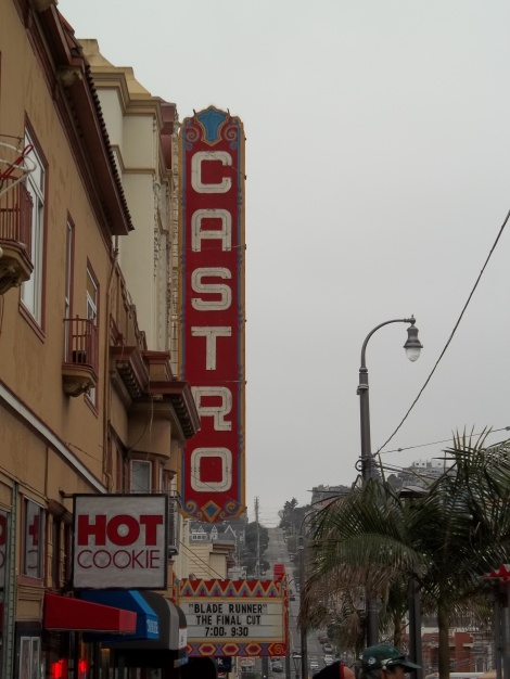 The only photos of the Castro I have I took when I went up to San Francisco for a book reading.