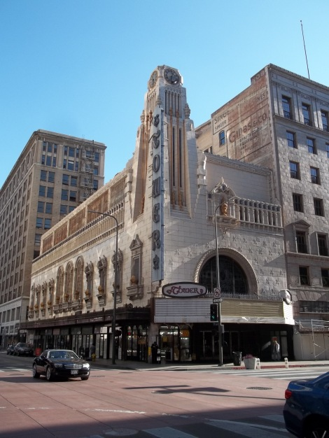 Here's the Tower Theater in 2015.