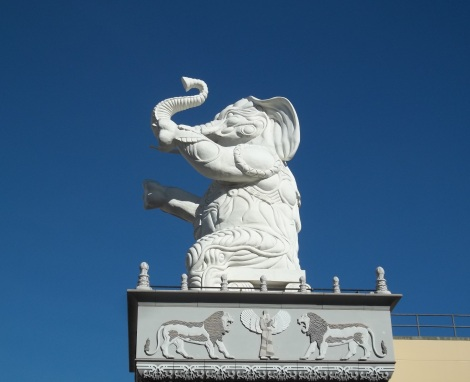 Babylon elephant. My book, The Odd Fellows, was released on December 16, 2013.