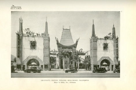 chinese theater architectural record two
