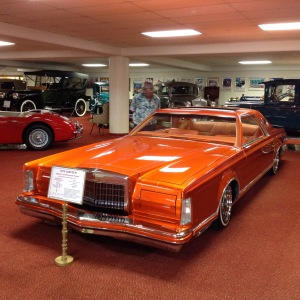 The 1979 Lincoln. The interior was orange too.
