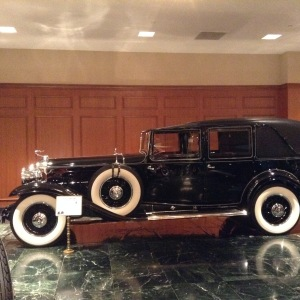 Demille's car.