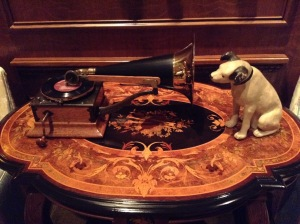 ...for example an old record player and Nipper.