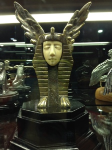 Uh, I like Egyptian stuff but I'm not sure about this.