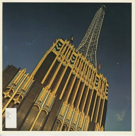 There is a book that was written about this building and it is the final say on it. It's called The Richfield Building, 1928-1968 by David Gebhard. This is the cover. It was produced and published by Atlantic Richfield right before they demolished the building.