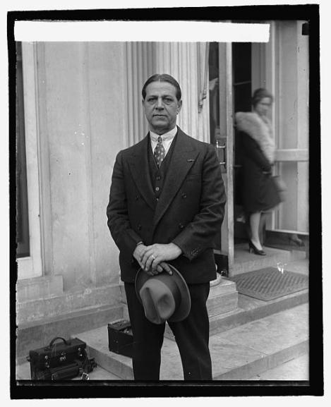Haig Patigian. I found this photo online. It's from the Library of Congress.