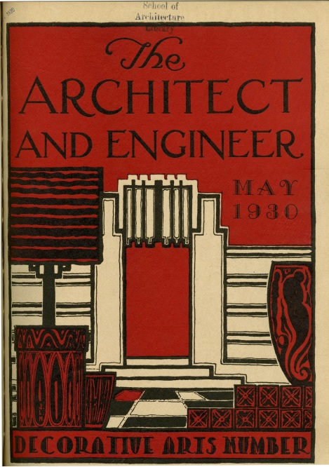 One of the articles was in The Architect and Engineer.
