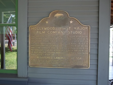 The plaque next to the front door.