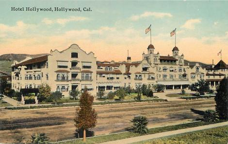 The Hotel Hollywood was torn down years ago.