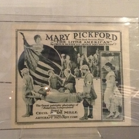 Some Mary Pickford artifacts.