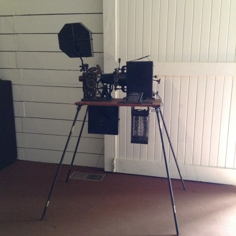 The odd motion picture camera.