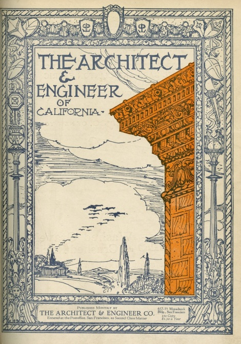 There was a whole article on the Bryson and .... apartment buildings in Architect and Engineer.