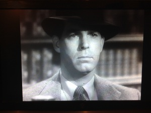Fred MacMurray from Double Indemnity.