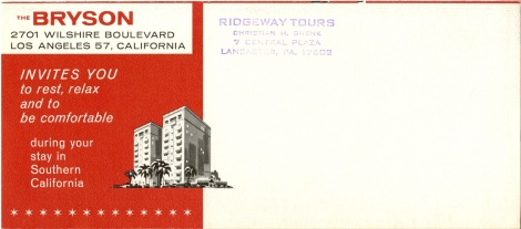 The back of the brochure.