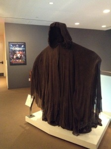 There were a couple of things from Harry Potter. This shroud...