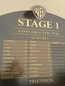 Look at all the great movies filmed on this soundstage.