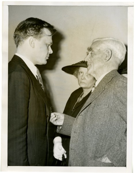 At the end of his life William S. Hart couldn't take care of himself so his son was made his executor.