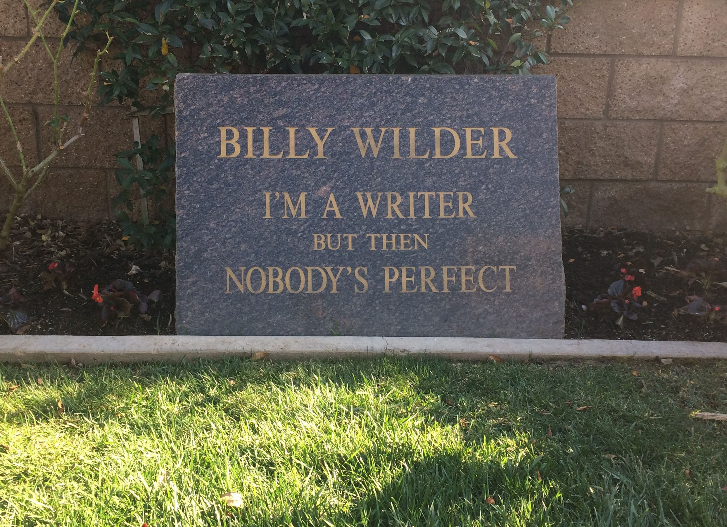 FINAL Billy Wilder gravestone 3